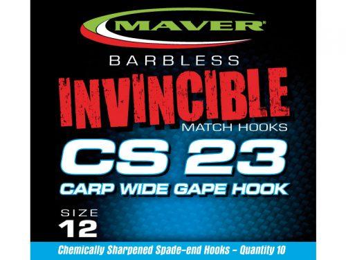 Invincible CS23 hooks