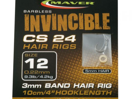 Invincible CS24 hair rig hooks