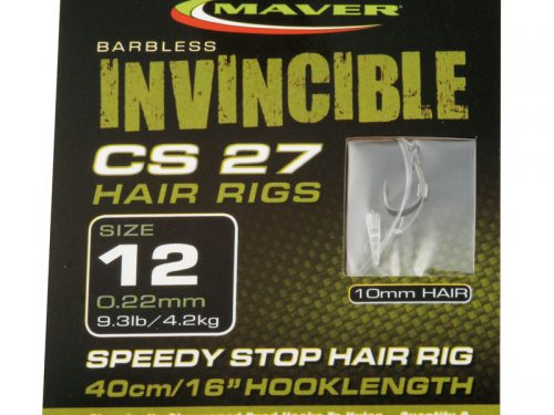 Invincible CS27 hair rig hooks